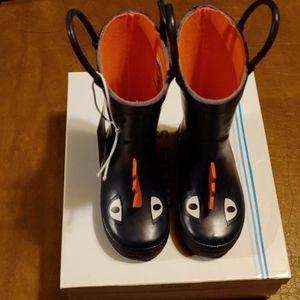 NWT and NIB Carter rainboots